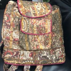 Beautiful Patterned Cloth Backpack